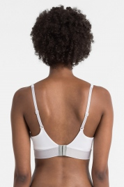Podprsenka push-up QF4052E-100 bílá - Calvin Klein