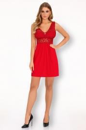 Vášnivá košilka Imchaella red - LivCo Corsetti
