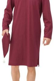 Pánská noční košile 11603-412 červená - Vamp