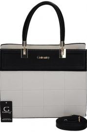 Dámská kabelka s ozdobným prošíváním - Gallantry