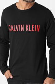 Pánské tričko NM1958E UB1 černá - Calvin Klein