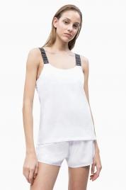 Dámské tílko KW0KW00691-143 bílá - Calvin Klein