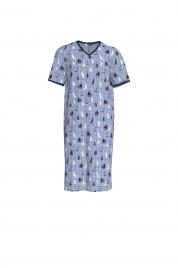 Pánská noční košile 6998-253 modrá - Vamp