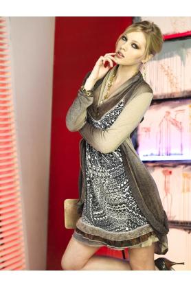 Dámske šaty R3400 - Roberto Naldi