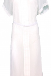 Plážové šaty KW0KW00715-143 bílá - Calvin Klein