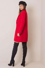 Czarny płaszcz damski