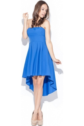 Dámske šaty modré K031 - Katrus