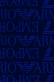 Plážová osuška 211770 9P447 01038 tmavěmodrá - Emporio Armani