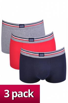Pánske boxerky 17302913 3pack farebné - Jockey