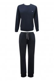 Pánské pyžamo 111794 CC570 00135 modrá - Emporio Armani