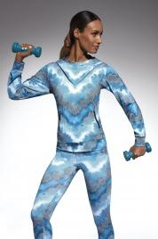 Sportovní dámská mikina Energy Blouse - Bas Bleu