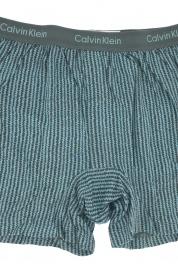 Pánské boxerky U1029A-31I - Calvin Klein Barva: šedá-tyrkysová, Velikost: XL