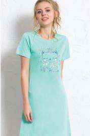 Dámská noční košile Kočka s korunkou 608136 - Vienetta