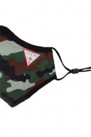 Bavlněná unisex rouška W0YZ17WDXC0-P1CM maskáčová - Guess