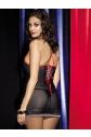 Košieľka Obsessive Showgirl chemise
