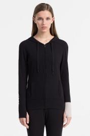 Dámská mikina QS5547E-001 černá - Calvin Klein
