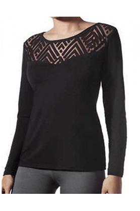 Dámské triko Camiseta Aristas Modal 72867 - Janira