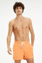 Pánské šortky UM0UM01080-617 oranžová - Tommy Hilfiger
