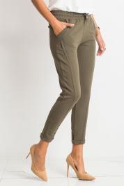 Spodnie dresowe ciemne khaki