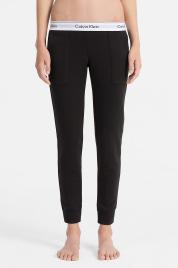 Dámské tepláky QS5716E-001 černá - Calvin Klein