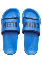 Pantofle K9UK014044-413 modrá - Calvin Klein