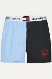 Pánské trenýrky UM0UM01829 CHS modrá - Tommy Hilfiger