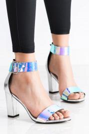 Dámské sandály na širokém podpatku GD-FL1066S - GOODIN