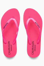 Pantofle KW0KW01032-TZ7 růžová - Calvin Klein