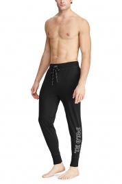 Pánské pyžamové kalhoty 714730609005 černá - Ralph Lauren