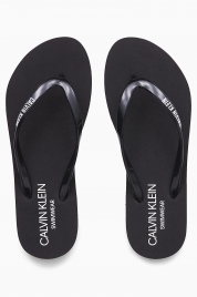Pantofle KW0KW01032-BEH černá - Calvin Klein